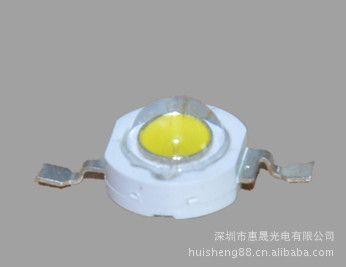 特价1w大功率白光灯珠 节能灯专供高亮三安30mil