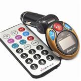 正品索浪SL-508车载MP3播放器车用MP3点烟器汽车音响AUX输出