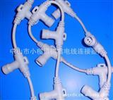 厂家直销中高档.LED防水插头线.IP68公母对接线,电线,插头.