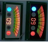 一位,二位,三位,四位,五位。红绿蓝数码管