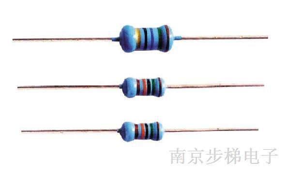 供应RJ 金属膜电阻器(1/6W,0.125W,1/4W,0.25W,0.4W,0.5W,1/2W,0.6W,1W,2W,3W)