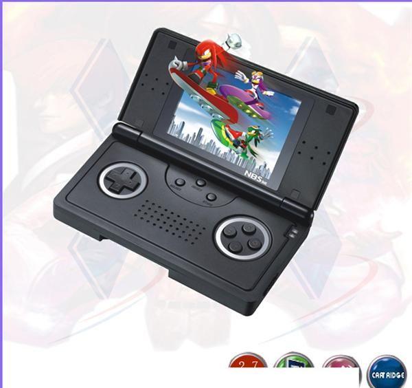 彩屏sega16位掌上游戏机md-270n千款经典游戏内置游戏