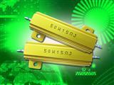 金色铝外壳电阻,专业电阻器
