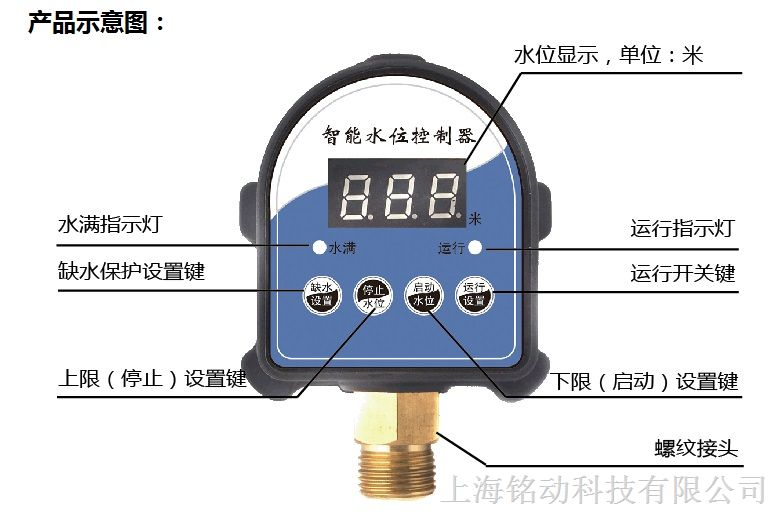 水塔水箱水位控制器