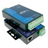代理MOXA NPort5230 串口服务器1 RS-422/485口1 RS-232口