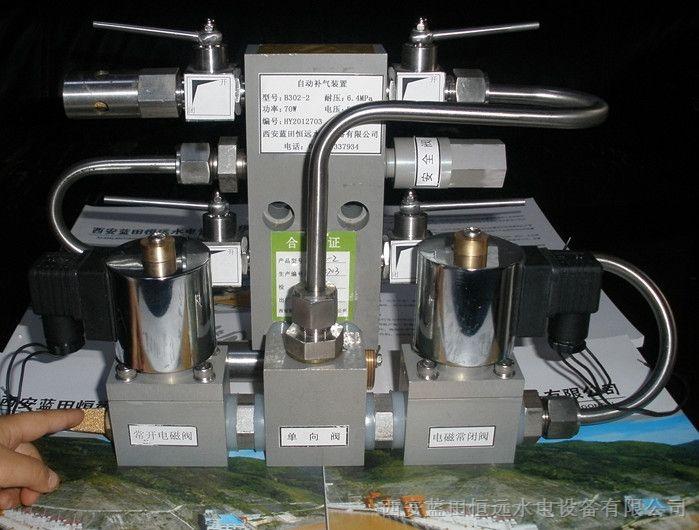 解决了传统上因电磁阀漏气导致贮能器的气压超高而影响正常工作的问题图片