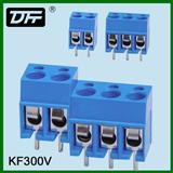厂家 螺钉式PCB板接线端子  KF300