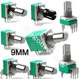 雅弧09型系列电位器/带开关电位器