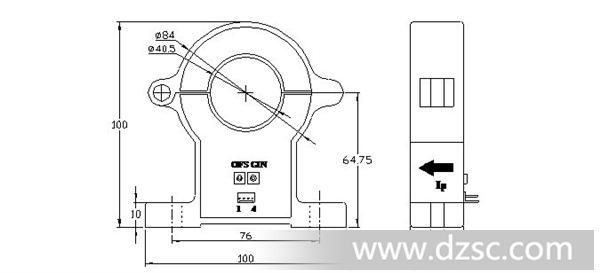cs2000ek2系列霍尔可拆卸电流传感器 应用霍尔效应开环原理的电流