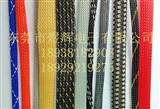 彩色花样编织网管pet编织网套管棉线编织网管