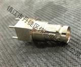 全铜优质BNC直插式视频头带螺纹式BNC头