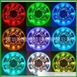 热销 5050贴片led灯带灯条 KTV酒店led灯具 RGB七彩变色 led灯带