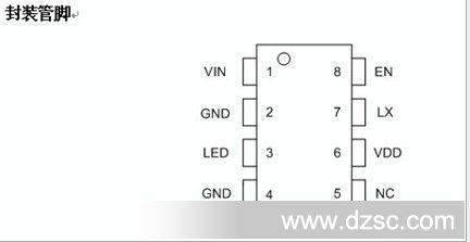 cl0120(太阳能蜡烛灯)led驱动芯片
