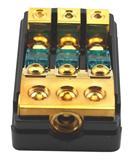 雷歌LGF-93汽车一分三一出三保险座保险丝保险胆保险管分线器纯铜