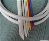 Φ8.0MM玻纤套管   耐高温Φ6.0玻纤套管1.5KV黑色自息管  纤维套管  硅管  硅套管