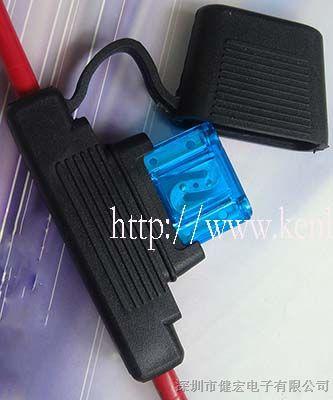 供应插片式汽车保险丝盒高清图片