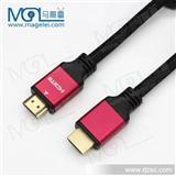 HDMI线高清线 hdim电脑电视数据连接线 金属头镀金1.8米