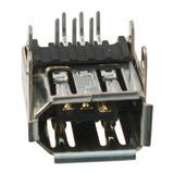 Molex汽车连接器0539840671,USB - mini B类型连接器