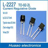 恒流二极管CRD L-2227 TO-92-2L 恒流值22-27MA