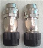三菱MR-J3安川Σ-Ⅴ伺服电机编码器接头10芯国产DDK CM10-SP10S-M