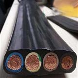 铜芯硅橡胶绝缘硅橡胶护套扁平形软电缆