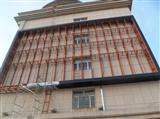 清远户外全彩led电子显示屏贴墙钢结构