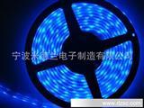 厂家直销彩色LED灯带 3528贴片 暖白灯条 滴胶防水
