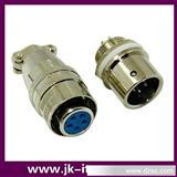 电缆连接器  航空插头连接器 GX12/12M