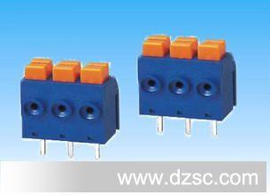 销免螺丝390接线端子 焊接设备快速接线端子 PCB端子台