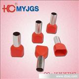 厂家销售冷压接线端头 双线管形预绝缘端头  TE1010 质量保证