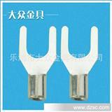 厂家冷压端头  叉形裸端头 绝缘端头 锁扣叉形裸端头