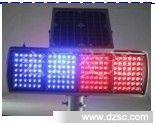 LED太阳能交通爆闪灯 太阳能黄闪灯 交通警示灯 道路口频闪灯