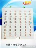 60颗5050LED线路板 150MM方形吸顶灯线路板改造版恒流源10串6并