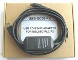 三菱FX2N-48MR编程电缆USB-SC09-FX