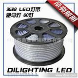 LED跑马灯红蓝绿灯带灯条LED strip防水户外IP65 220V软灯条