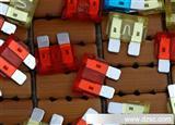 高端环保汽车保险丝片25A保险丝插片中型保险丝