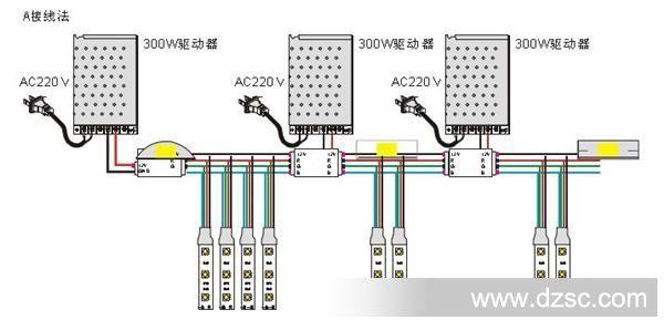 安装led吸顶灯怎么接线