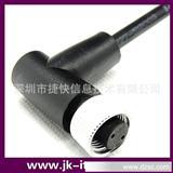 M12 小头2芯LED防水插头 2*0.5平方 厂家直稍