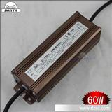 60W防水驱动 电源  led恒流电源 60w  投光灯工矿灯电源 10串6并