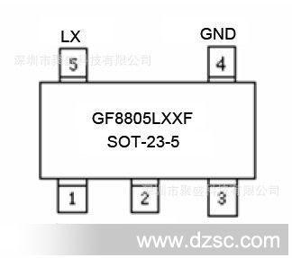 3v dc-dc 升压ic 升压芯片   类型: 稳压ic 品牌/商标: gf 型号/规格