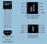 MAXIM温度传感器DS18B20数字温度传感器 DS18B20