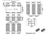 TDK贴片陶瓷谐振器 CCR4.0MUC8T (4.0*2.0) 4MHZ三脚晶振