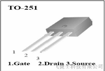 供应华晶MOS管 CS4N60A3HD 4A600V TO251封装 华晶授权代理商飞捷电子供应