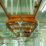 喷漆烘干流水线 喷塑悬挂输送线