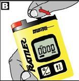 硫化氢H2S便携式单一气体检测仪