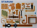 PET线路板|厂家生产薄膜开关PET线路板薄膜按键FPC