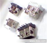 工厂USB连接器母座 A母短体SMT 10.6MM