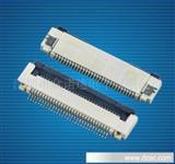 0.5掀盖式FPC扁平电缆连接器