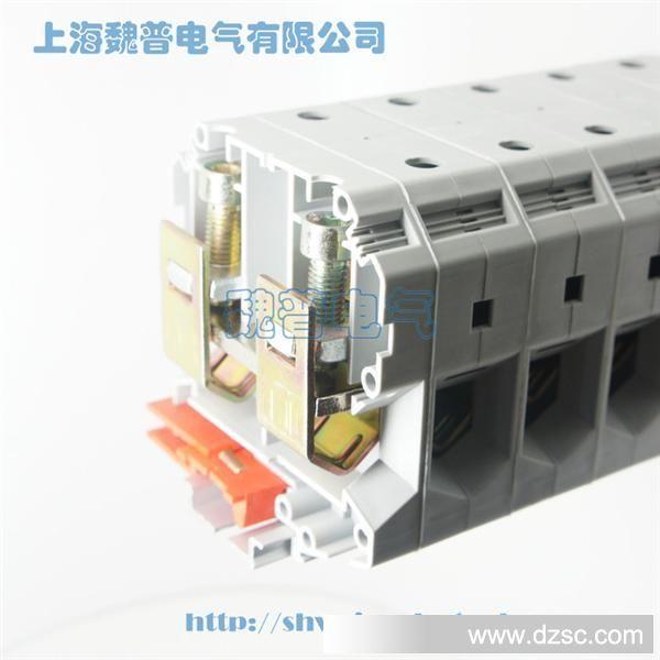 高品质uk-95接线端子 jukh-95导轨组合试接线端子