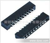 大量,厂家直销.批发自产:薄膜插座2.54直脚,弯脚,FPC2.54插座